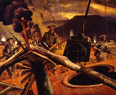 Art militaire beaverbrook, © musée canadien de la guerre