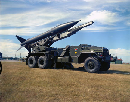 Honest john nuclear armed surface to surface missile