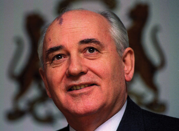 Former Soviet Premier Mikhail Gorbachev