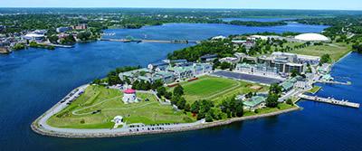 Collège militaire royal du Canada, à Kingston, en Ontario