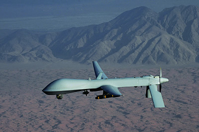 A US Air Force Predator drone.